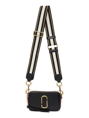 Marc Jacobs black and red the snapshot bag