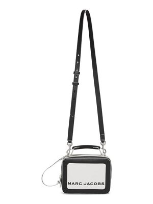 Marc Jacobs black and white the colorblocked box bag