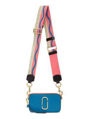 Marc Jacobs blue and pink the snapshot bag