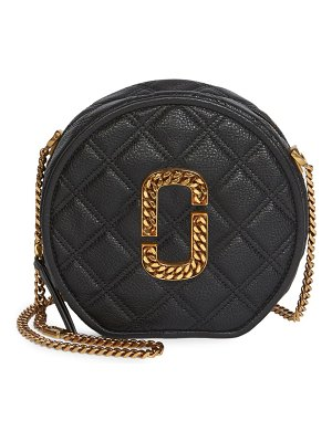 Marc Jacobs the status christy circle leather crossbody bag