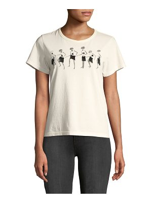 Marc Jacobs classic embroidered logo tee