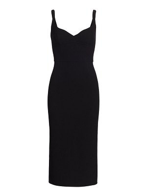 Runway Marc Jacobs double faced wool sleeveless fitted sheath dress