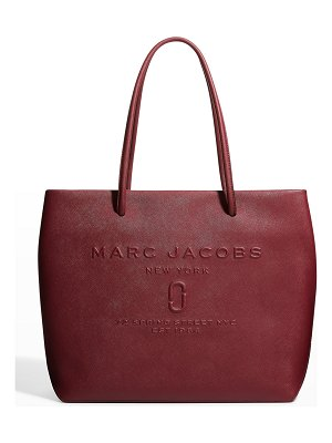 Marc Jacobs East-West Logo Leather Tote Bag