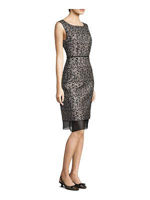 Marc Jacobs Embroidered Sheath Dress