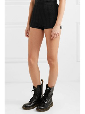 Marc Jacobs embroidered stretch-knit shorts