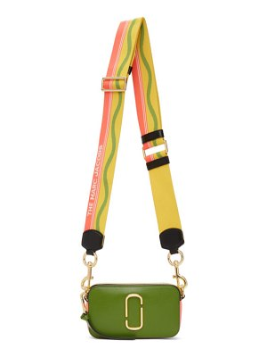 Marc Jacobs green and yellow the snapshot bag