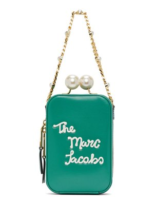 Marc Jacobs green the icing vanity bag