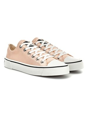 Marc Jacobs grunge satin sneakers