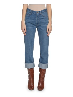 Marc Jacobs High-Rise Cuffed Jeans