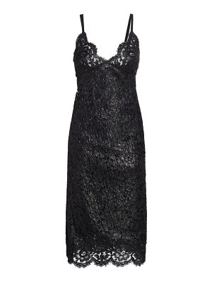 Runway Marc Jacobs lacquered lace slip dress