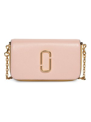 The Marc Jacobs leather crossbody bag