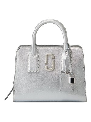 Marc Jacobs Little Big Shot Metallic Satchel Bag