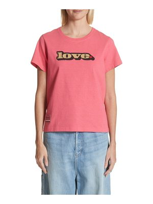 Marc Jacobs love graphic tee