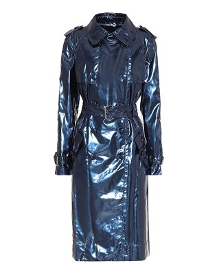Marc Jacobs metallic vinyl trench coat