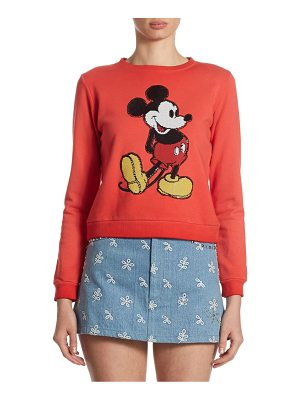 Marc Jacobs Mickey Mouse Cotton Sweatshirt