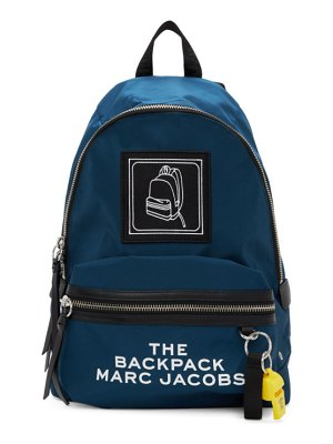Marc Jacobs navy the pictogram backpack