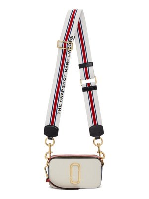 Marc Jacobs off-white and red the snapshot bag
