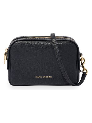 Marc Jacobs Pebbled Leather Camera Crossbody Bag