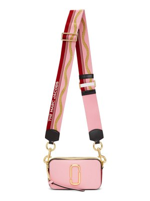 Marc Jacobs pink and red the snapshot bag