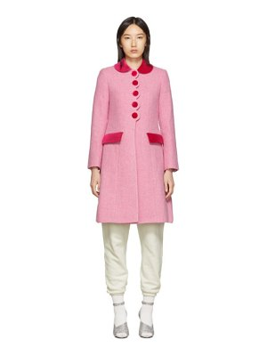Marc Jacobs pink new york magazine edition the sunday best coat