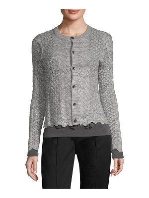 Marc Jacobs pointelle-knit cardigan