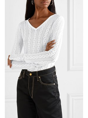 Marc Jacobs pointelle-knit top