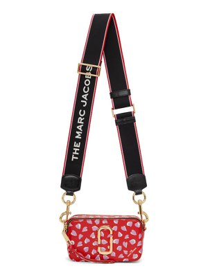 Marc Jacobs red the snapshot hearts bag