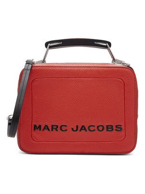 Marc Jacobs red the textured mini box bag
