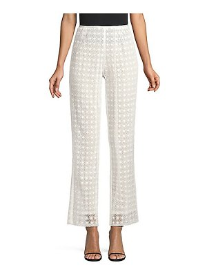 Marc Jacobs redux grunge square embroidery high pants