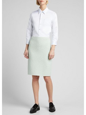 Marc Jacobs Runway Boucle Knit Pencil Skirt
