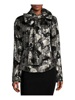 Marc Jacobs Sequin Bow Blouse