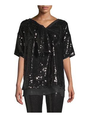 Marc Jacobs sequin bow t-shirt