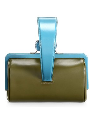 Marc Jacobs small frame leather top handle bag