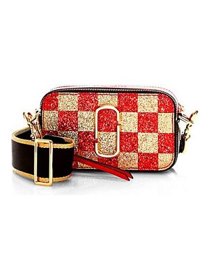 Marc Jacobs snapshot checkerboard camera bag