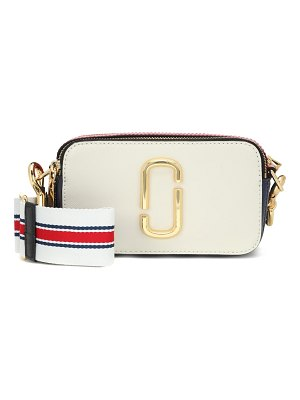 Marc Jacobs snapshot small leather crossbody bag