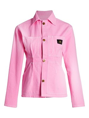 The Marc Jacobs s.ray x tailored workwear cotton jacket