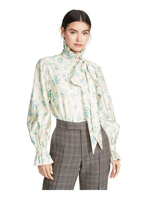 Marc Jacobs stand up collar shirt