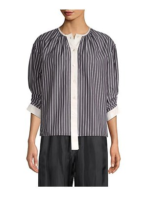 Marc Jacobs stripe button down top