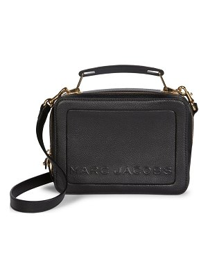 Marc Jacobs the box 23 leather top handle bag