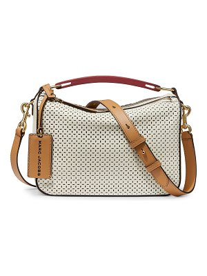 Marc Jacobs the box perforated leather crossbody bag