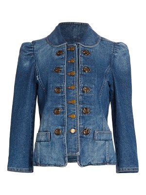 The Marc Jacobs the fitted denim jacket