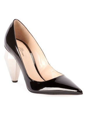 Marc Jacobs The Pump Patent Pointed Pumps