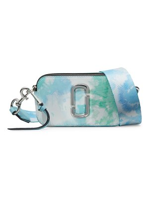 Marc Jacobs the snapshot tie-dye coated leather camera bag