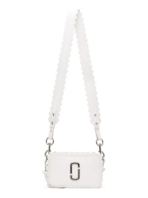 Marc Jacobs white scalloped the softshot 21 bag