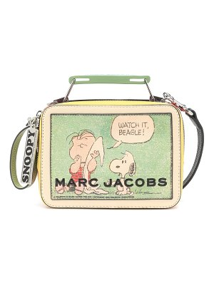 Marc Jacobs x peanuts® box small shoulder bag