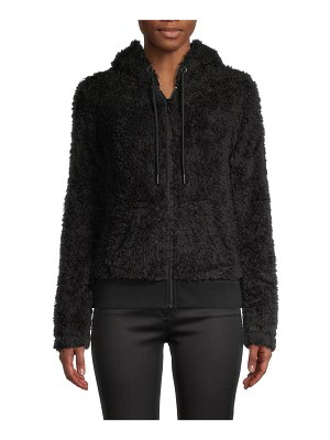 MARC NEW YORK Faux Fur Hooded Jacket
