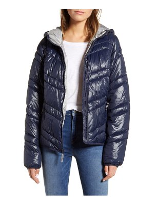 MARC NEW YORK hooded packable jacket