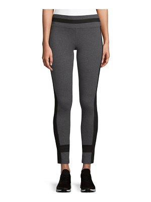 Marc New York Performance Ankle-Length Colorblock Leggings