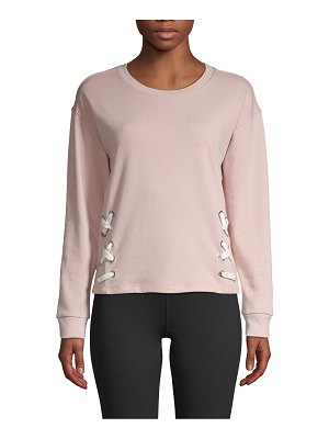 Marc New York Performance Grommet-Laced Top