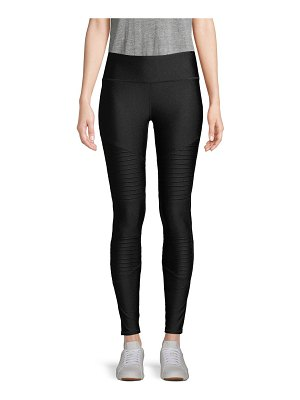 Marc New York Performance High-Waist Moto Leggings